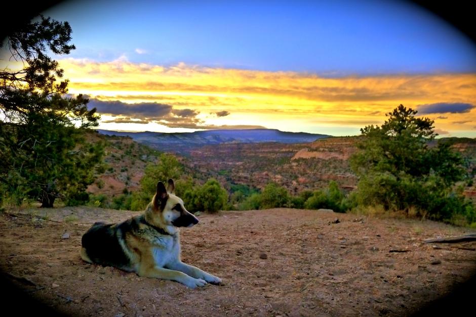 Zam Boulder Sunset