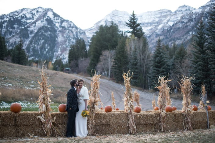 Johnny and Amber Howe Wedding. Sundance Resort, Utah.