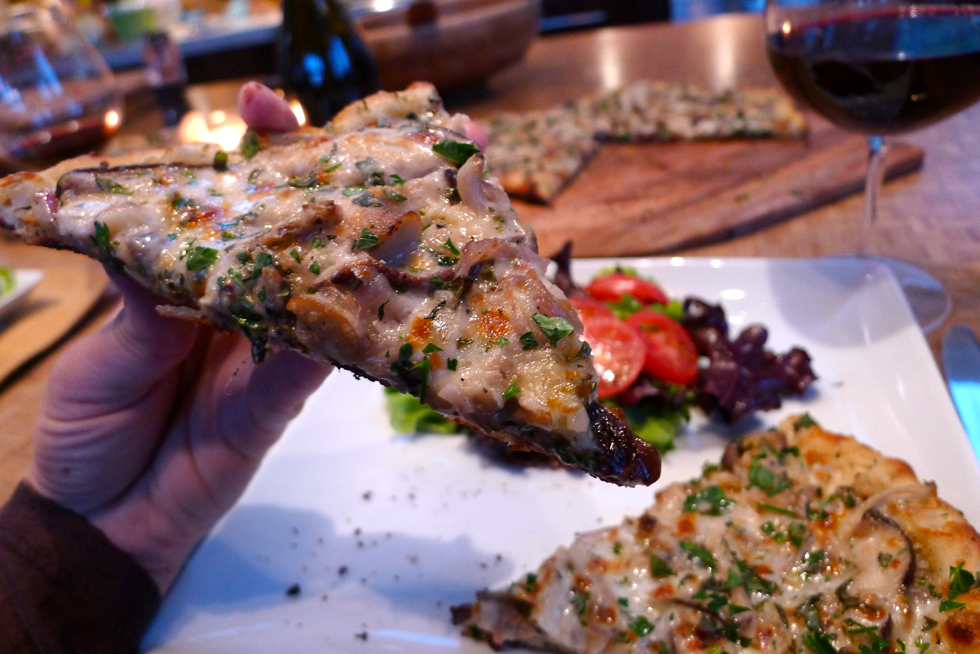 And this recipe will leave you with leftover pizza for breakfast. Is ...