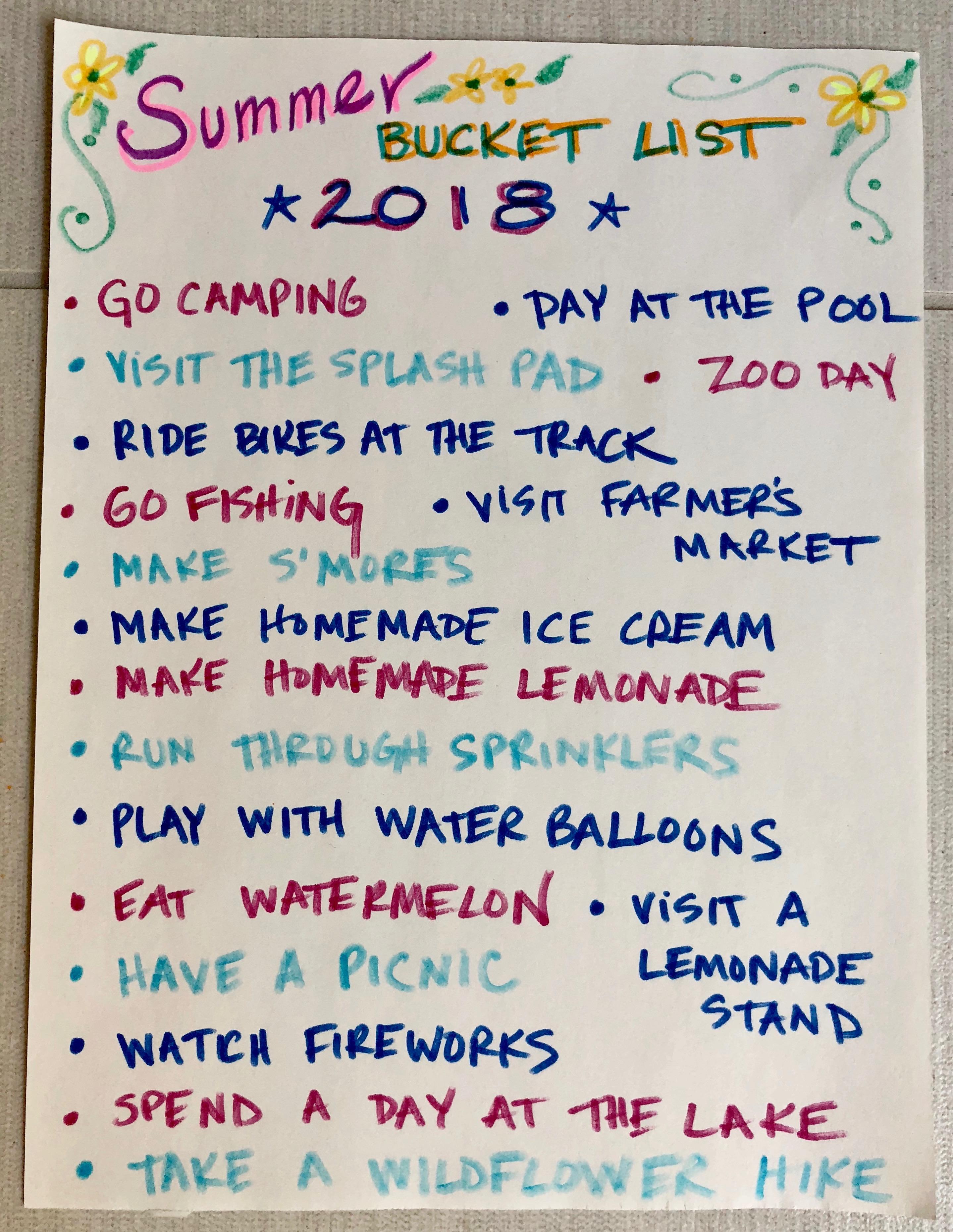 Summer Bucket List Recap The Usual Bliss
